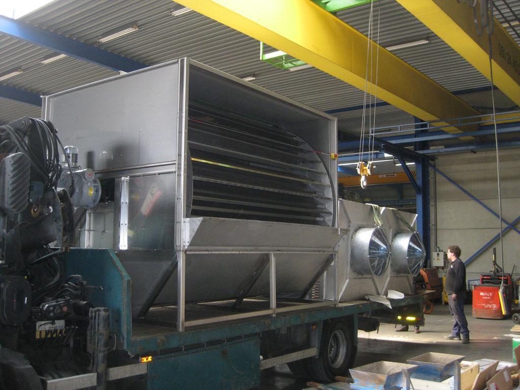 Mississippi-Gärresttrocknung für eine 500kW Biogasanlage verlässt das Werk