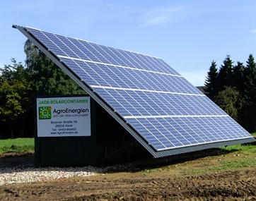 Jade-Solarcontainer