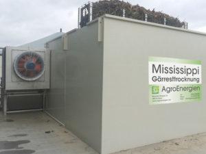 Mississippi-Gärresttrocknung Anlagenbeispiel 3