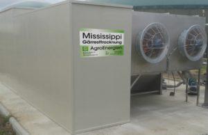 Mississippi-Gärresttrocknung Anlagenbeispiel 5